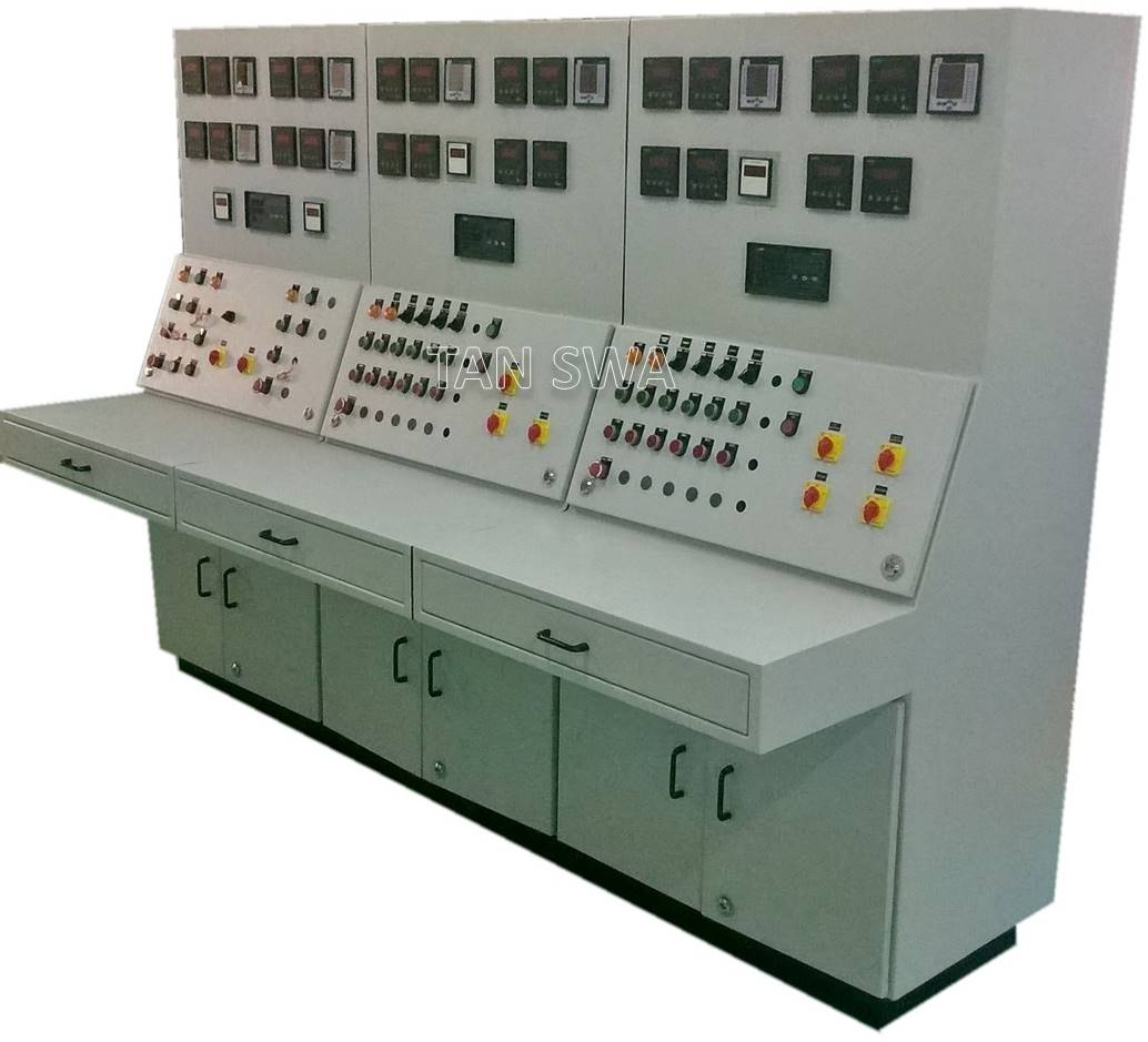 Pneumatic panels electrical test bench mobile lockers for Electric motor test panel