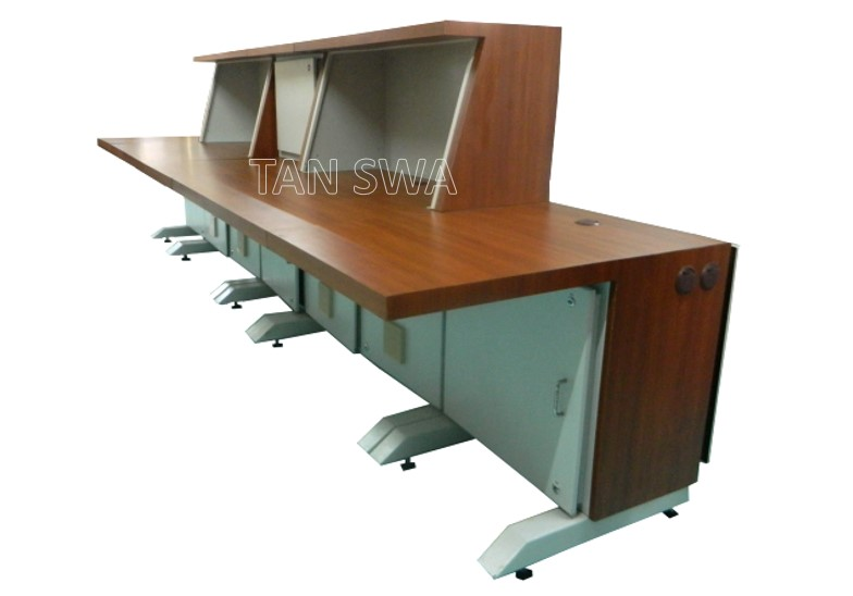 Control Room Furniture Property pc consoles, control desks, control room furniture